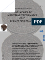 Comunicarea de Marketing a Marcii Oreo
