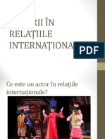 Actori in Relatiile Internationale