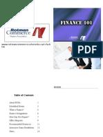 Finance 101 Booklet2