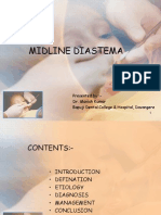 orthodontic approach to mid-line diastema