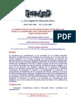 Dialnet-LaFormacionDeLosDocentesDeEducacionFisicaEnTornoAL-3991949