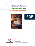A to Z Dream Meanings Reference Book - sleep aid tips