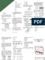Examen Del 2c Tercer Bimestre de Matematicas