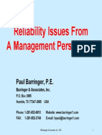 Management Reliability