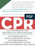 CPR demo.