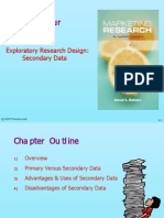 Marketing Research Module 2 Secondary Data
