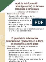 El Papel de La Informacion Administrativa