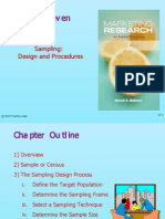 Marketing Research Module 8 Sampling Design