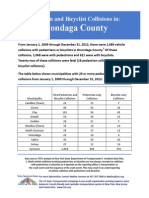 Onondaga Bicycle Collisions