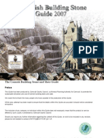 Cornish Building Stone and Slate Guide 2007