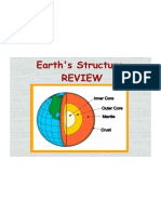 Earth's Structure Review Answers