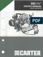 BBD_Manuals Carburador Carter 2425