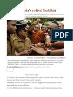 Meet Sri Lanka's Radical Buddhist