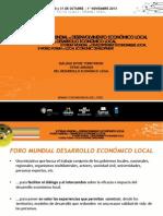 Presentacion Foro III La Paz Avanza