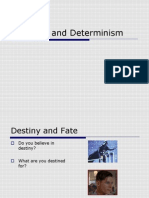 PP Free Will and Determinism