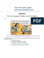3o Simulado Linguagens Umb Cris Umbdef