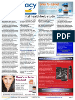 """Pharmacy Daily for Wed 15 Jan 2014 - Mental health help study, Vax trial \""""irresponsible\"""", Hydralyte in the heat, Health"""