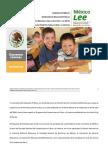 Programa Nacional de Lectura. México Lee