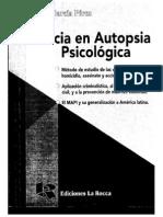 Pericia en autopsia psicológica  Teresita García Pérez