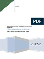 Métodos Estadísticos - Regresión Múltiple - Statgraphics