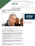 13-01-2014 'Invierten en Reynosa 68 millones de pesos en mejoramiento de imagen'.