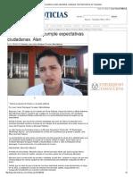 13-01-2014 'Audiencia pública cumple expectativas ciudadanas_ Alan'.