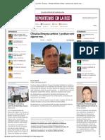 13-01-2014 'Oficializa Almanza cambios; 'y podrían venir algunos mas'.