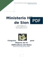 Congreso Para Mujeres de Fe, Material