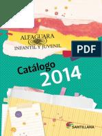 Catalogo Alfaguara 2014