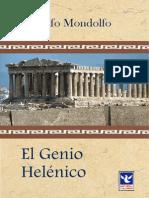 Mondolfo Rodolfo El Genio Helenico