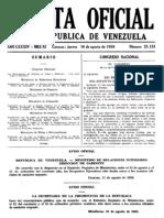 Venezuela. g o 25129. Ley Vagos y Maleantes