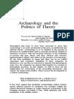 Politics of Theory