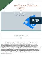 Administración por Objetivos (APO)