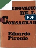 Pironio Eduardo Renovacion de La Vida Consagrada