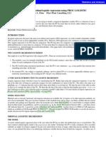 Multinomial and ordinal logistic regression using PROC LOGISTIC