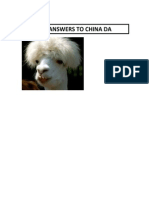 Answers to China CP and DA