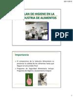 Plan de Higiene 2013 II