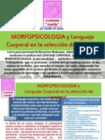 Morfopsicologia y Lenguaje Corporal en Seleccion de Personal