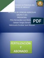 Abonado Yu Fertilizacion