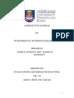 Reflective Teaching Journal by Ilyani Rahman