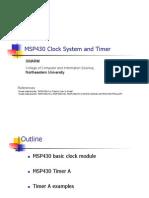 Msp430 Clocks Timers