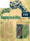 Rice Today Vol. 13, No. 1 Mapping rice in Africa