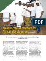 Rice Today Vol. 13, No. 1 Papa Abdoulaye Seck