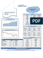 Index Action-Nifty and Corporate Debt to GDP Trend in Narnolia Securities Limited Market Diary 15.1.2014