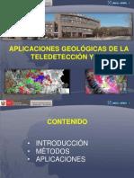 Aplicaciones Geológicas de la Teledetección