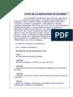 EXTRACTOS DE LA ANTOLOGÍA DE ESTOBEO.docx