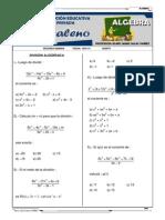 4.- Guia Practica División de Polinomios 2014