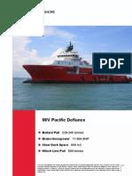 MV Pacific D- Class