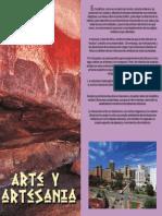 Folleto Arte y Artesania