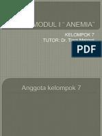 Modul Anemia